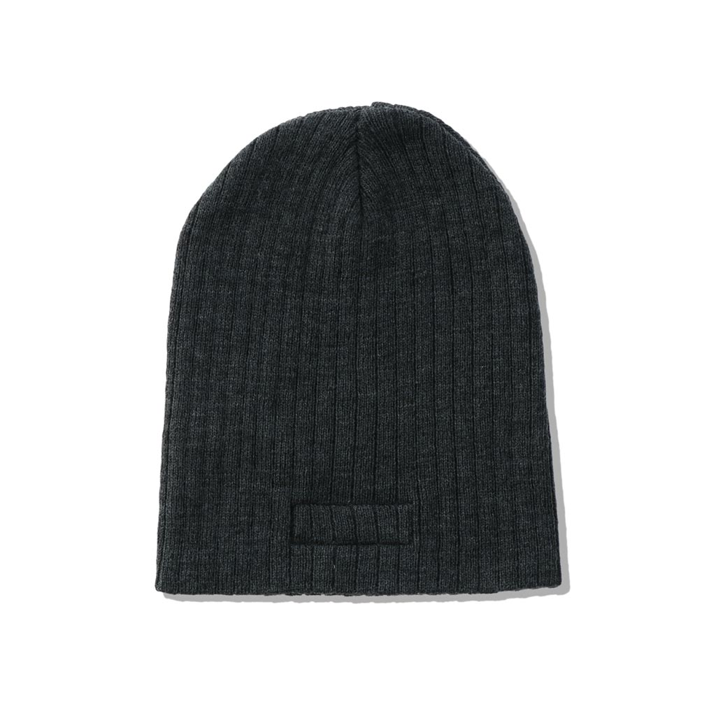 WIND AND SEA / WDS CABLE BEANIE (CHARCOAL)