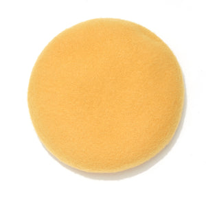NAISSANCE / NAPPING WOOL BERET (YELLOW)
