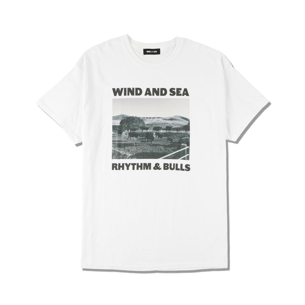 WIND AND SEA / WDS (BULLS) PHOTO T-SHIRT (WHITE)