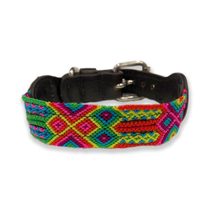 ECLECTIC ARRAY / DOG COLLAR (Neon Extra/XS)