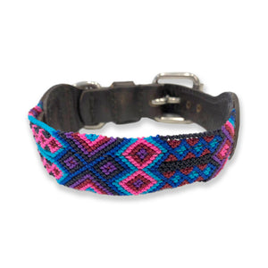 ECLECTIC ARRAY / DOG COLLAR (Sangria/XS)
