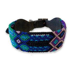 ECLECTIC ARRAY / DOG COLLAR (Sea Storm/M)