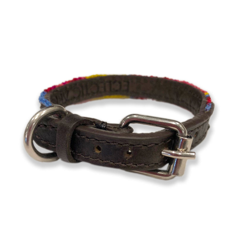 ECLECTIC ARRAY / DOG COLLAR (Mai Tai/XXS)