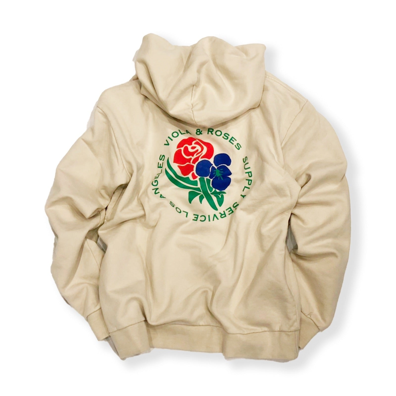VIOLA&ROSES / OVERSIZED FIT HOODIE (BONE WHITE)