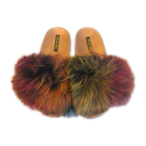 mikomori / FUR SHOWER SANDAL