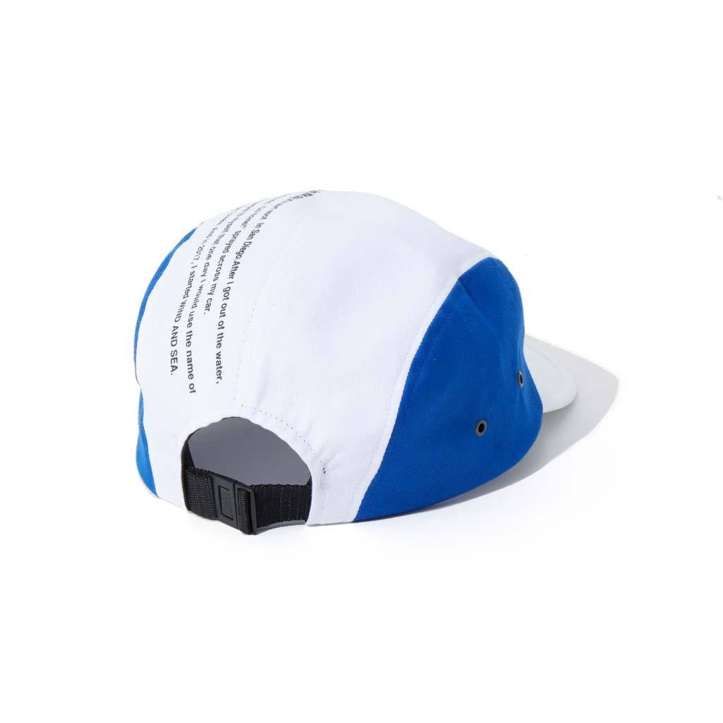 WIND AND SEA / JET CAP  (WHITE)