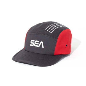 WIND AND SEA / JET CAP  (BLACK)