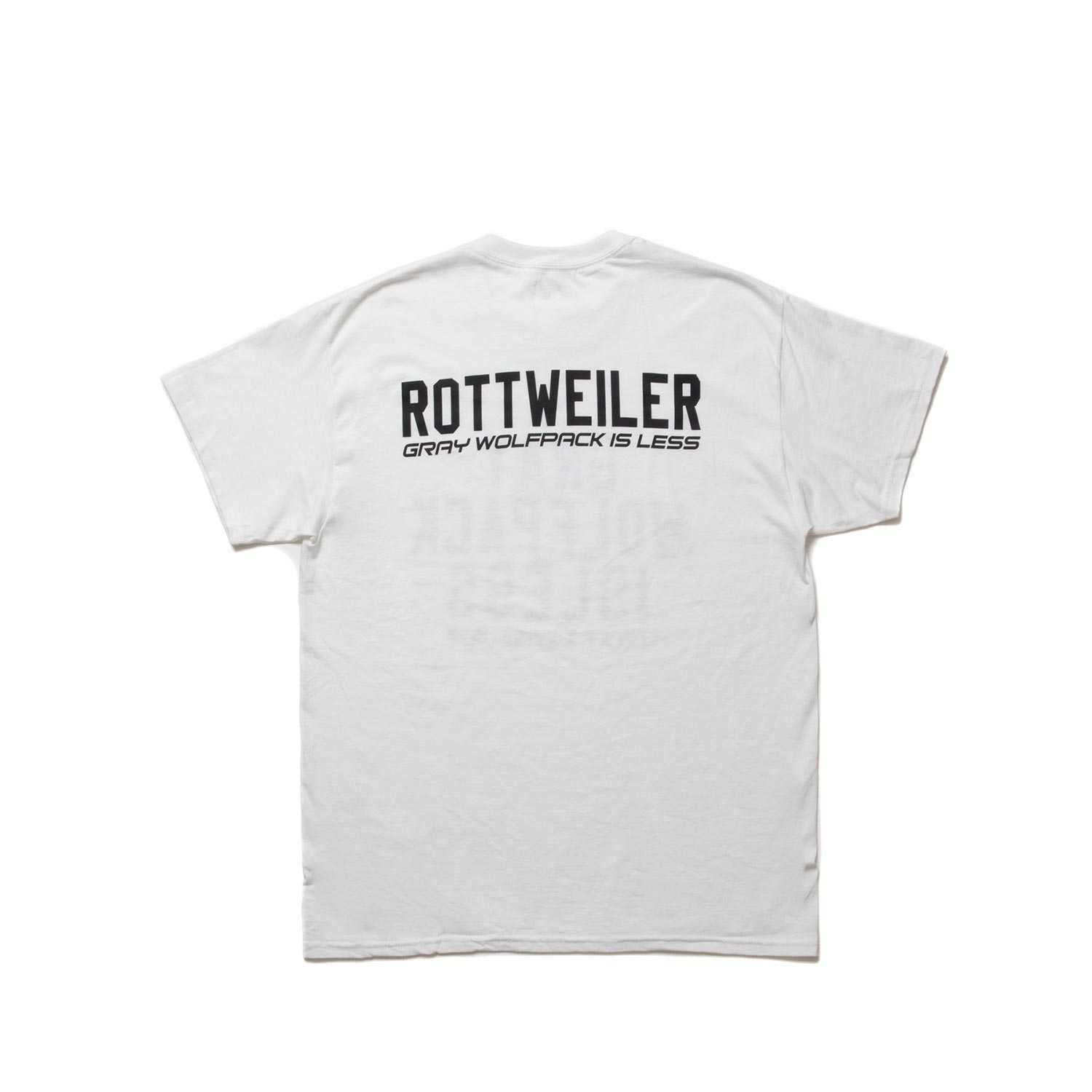 ROTTWEILER / CLASSIC.LO.S/S TEE (WHITE)