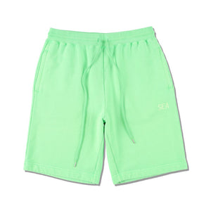 WIND AND SEA / SEA (pigment-dye) SWEAT SHORTS (FS GREEN)