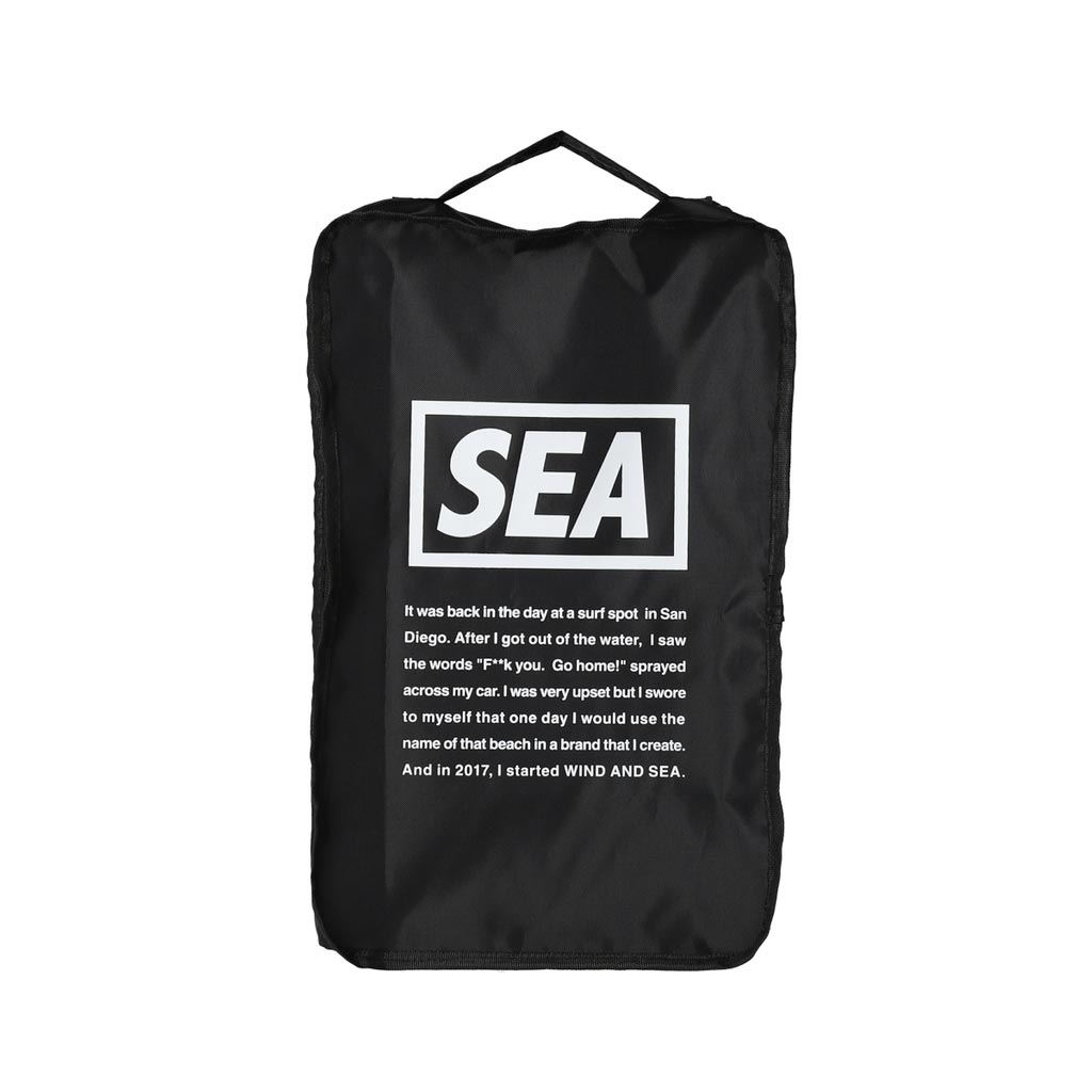 WIND AND SEA / WDS TRAVEL POUCH (MEDIUM)