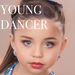 Young Dancer JAMGlam Makeup Look JAM