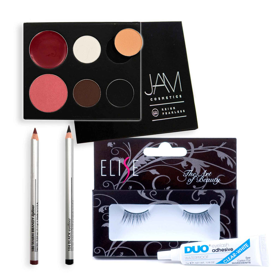 JAM Cosmetics Prima Diva Essentials Stage Recital Dance Makeup Kit