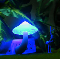 Small LED Portable Mushroom Night Light