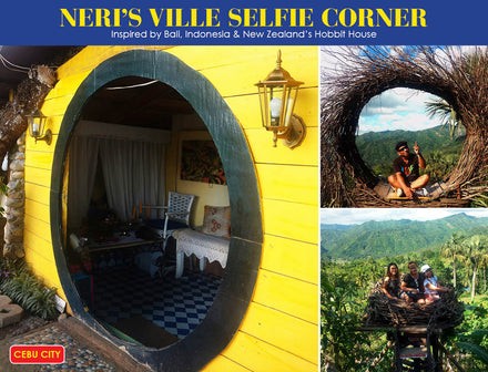 NERI'S VILLE - Most current Cebu Selfie Corner