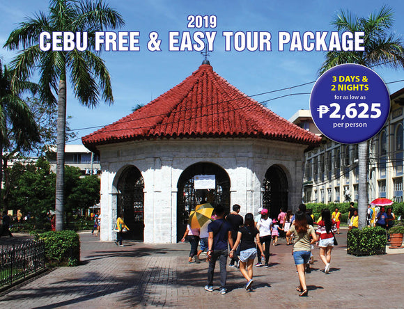 3D/2N Cebu Free and Easy Tour Package - AREE TRAVEL & TOURS