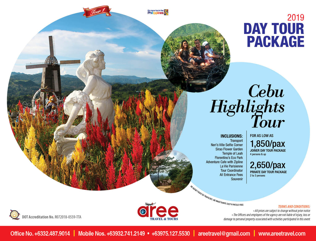 DAY TOUR PACKAGE-Cebu Highlights Tour - AREE TRAVEL & TOURS