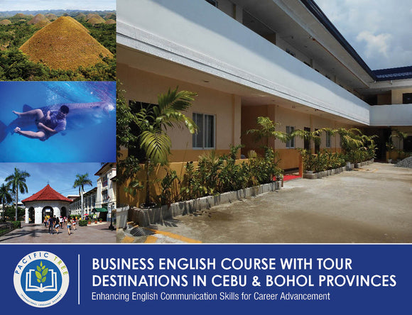 OPTION 1 BUSINESS ENGLISH $1,905 USD/PERSON (Inside School Dormitory with Twin Accommodation) - AREE TRAVEL & TOURS