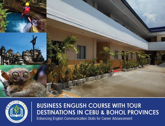 OPTION 2 BUSINESS ENGLISH $2,115 USD/PERSON (Inside School Dormitory with Single Occupancy) - AREE TRAVEL & TOURS