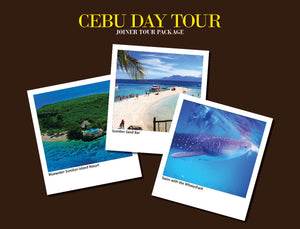 CEBU DAY TOUR PACKAGE OPTION 3 ( WHALESHARK, SUMILON ISLAND RESORT DAY USED )