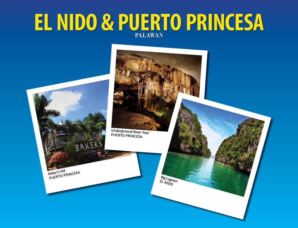 4D/3N  EL NIDO TOUR PACKAGE A & C, UNDERGROUND RIVER TOUR & PUERTO PRINCESA CITY TOUR - AREE TRAVEL & TOURS