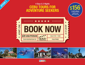 4D/3N (OPTION 3) CEBU TOURS FOR ADVENTURE SEEKERS - AREE TRAVEL & TOURS