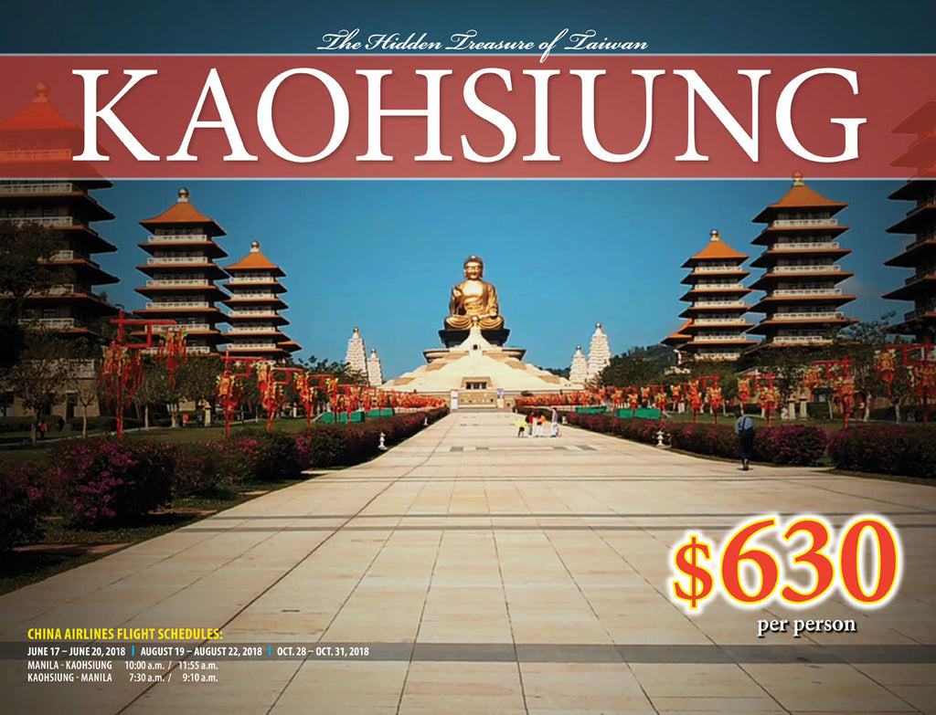 4D/3N KAOHSIUNG TAIWAN - AREE TRAVEL & TOURS