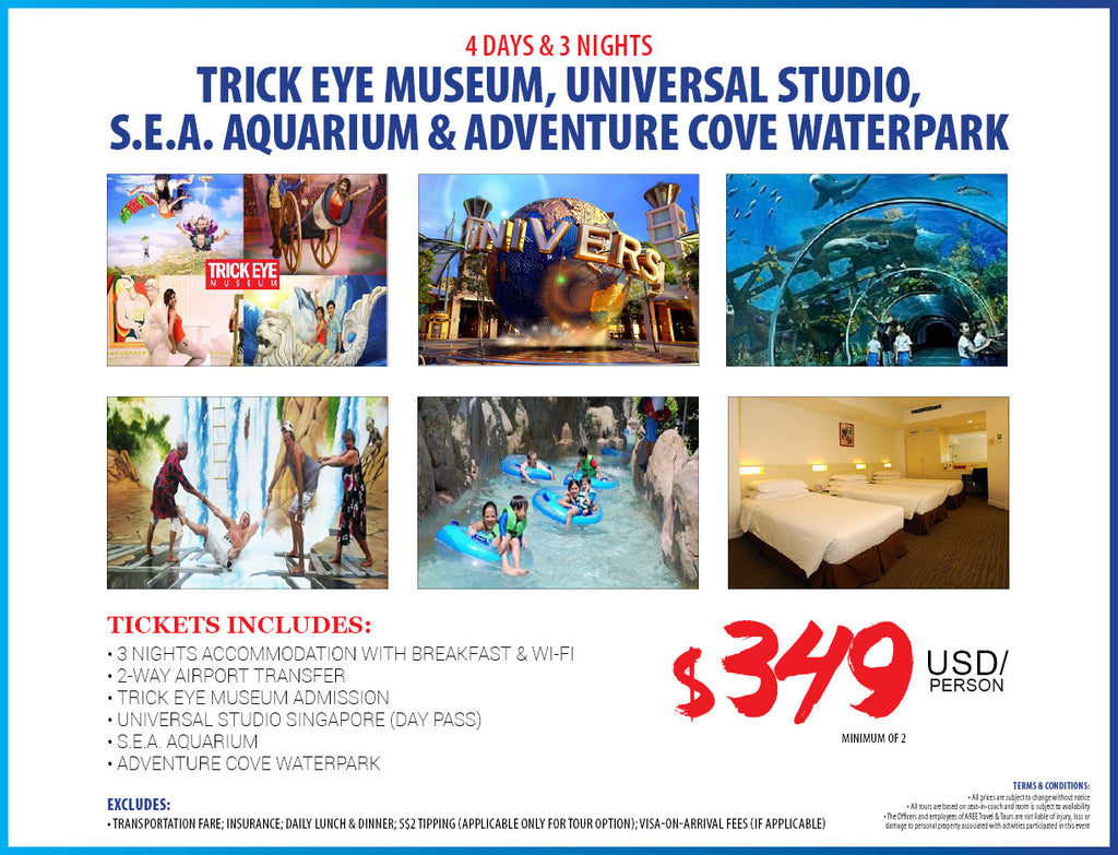 4D/3N SINGAPORE TOUR PACKAGE