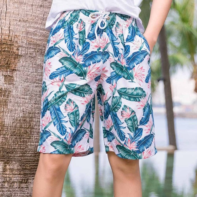 Wildsurfer Couple Beach Shorts