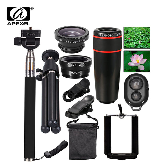 Phone Camera Travel Kit Accessories