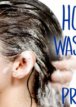 How You Should Be Washing Your Hair