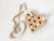 Wooden Heart Lacing Toy