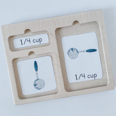 Three Part Card Tray