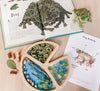 Lilly Pad Frog Loose Parts Tray