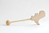 Wooden toy Dino wand handmade in the U.S.A.