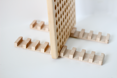 Wooden Display Rack Stand for Wooden Activity Boards