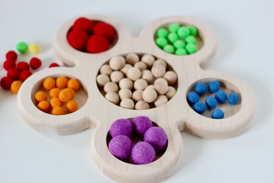 Loose parts tinker tray.