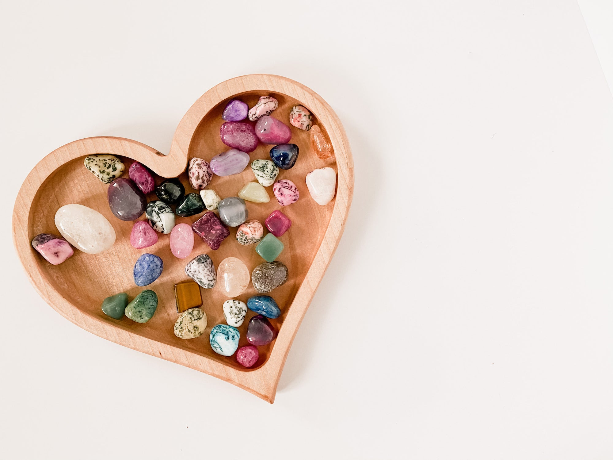 Heart Loose Parts Tray
