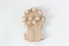 An adorable lion shaped ten frame for preschoolers to use as math aids and they can paint our wooden balls fun colors.