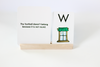 Note card and index card stand for homeschool.