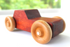 Wooden cars for toddlers handmade in the United States.