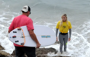 It's Warfare in the Waves During Point Mugu Surfing Contest