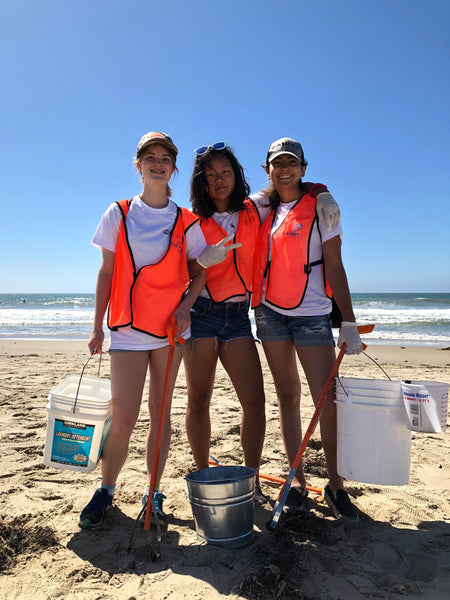 Moorpark Student Volunteers At California Coastal Cleanup Day 2018