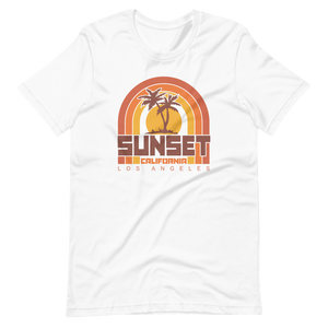 Sunset Cali Tee