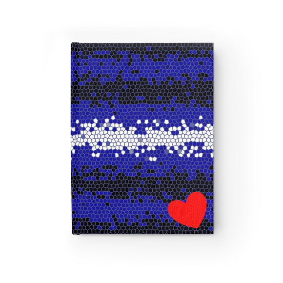 Leather Pride Mosaic Journal - Blank