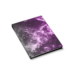 Asexual Pride Galaxy Journal - Line Ruled