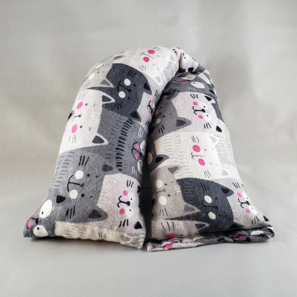 Cozy Cats Flannel Heat & Cold Packs