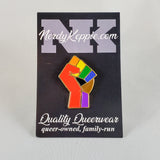 Pride Solidarity Fist Pins