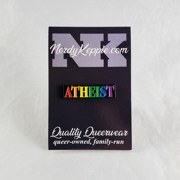 Faith & Pride Atheist Pins