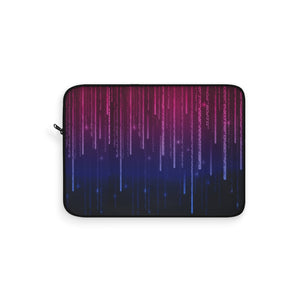 Bisexual Pride Matrix Laptop Sleeve