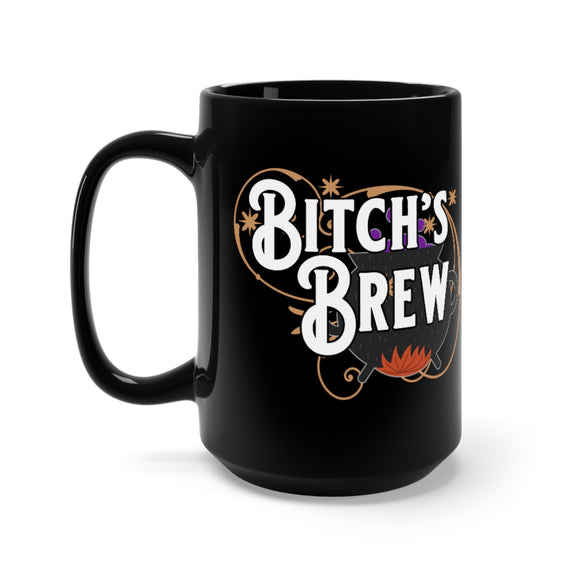 Bitch's Brew Black Mug 15oz